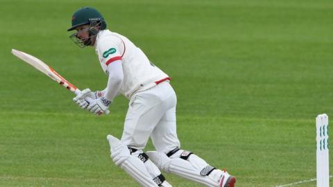 Leicestershire opening batsman Paul Horton