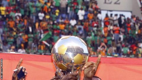 Cosafa Cup trophy