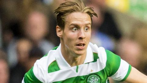 Celtic midfielder Stefan Johansen