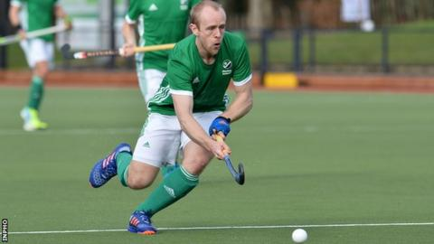 Eugene Magee gave Ireland a second-half lead against Germany in the Hamburg Masters