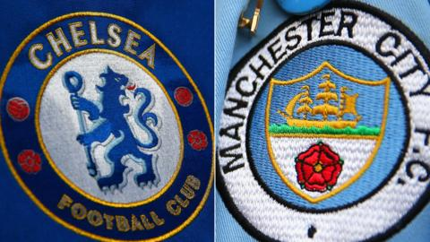 Chelsea and Man City