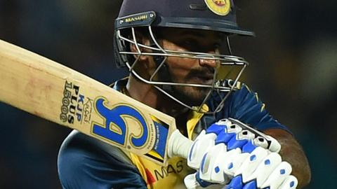 Kusal Perera: Sri Lanka player fails doping test and is sent home