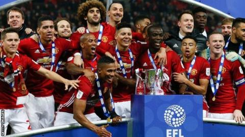 EFL Cup third round draw: Holders Man Utd to host Burton Albion