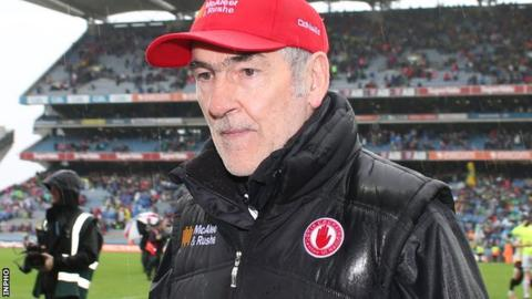 Mickey Harte has guided Tyrone to three All-Ireland Championships