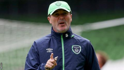 Republic of Ireland assistant boss Roy Keane