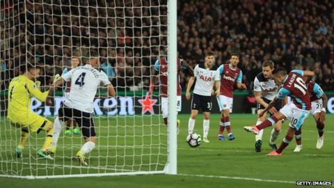 West Ham beat Spurs