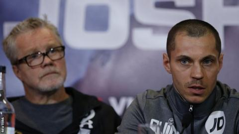 Scott Quigg and Freddie Roach
