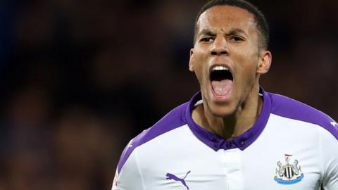Newcastle goalscorer Isaac Hayden