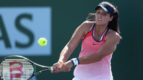 Laura Robson has played only three Grand Slams in the past two years
