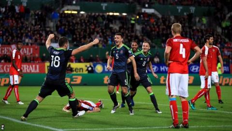 Tottenham defender Kevin Wimmer scores an unfortunate own goal