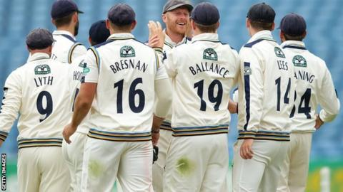 Reigning champions Yorkshire had not won a home Roses match since 2001 in the County Championship