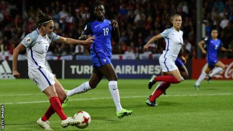 England beat France to reach Women's Euro semis