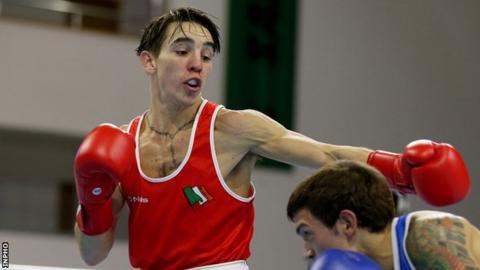 2012 Olympic bronze medallist Michael Conlan