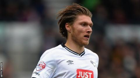 Jeff Hendrick of Derby County
