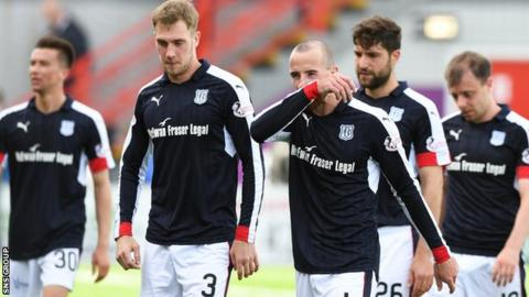 Dundee lost their last two games under Neil McCann after securing their top flight status