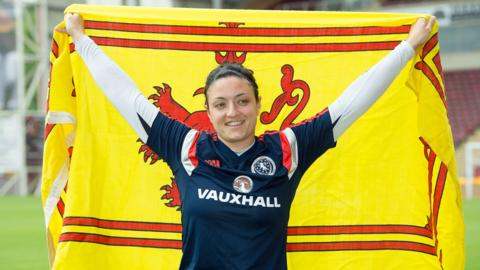 Scotland goalkeeper Gemma Fay