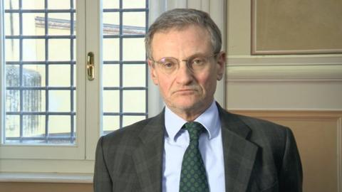 Italian prosecutor Roberto di Martino