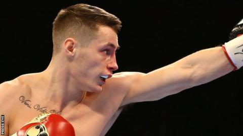 Ryan Burnett holds British and European titles at bantamweight
