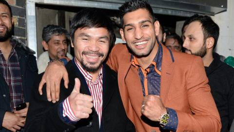 Pacquiao and Khan