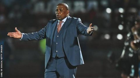 South Africa suspend coach Mashaba for game