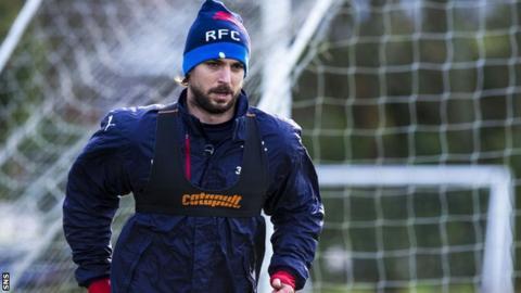 Rangers' Niko Kranjcar has made more than 80 appearances for Croatia
