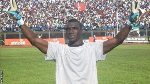 Former Sierra Leone goalkeeper Christian Caulker