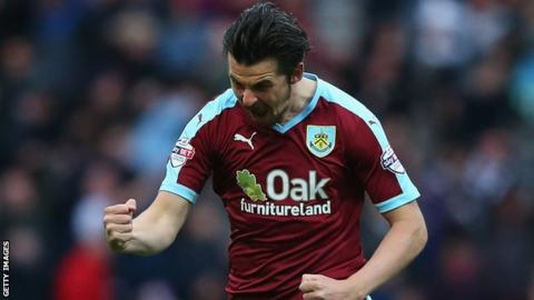 Joey Barton was offered a new contract at Burnley