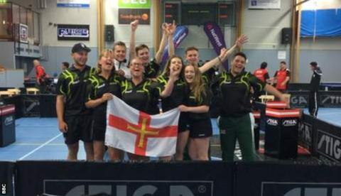 Guernsey table tennis
