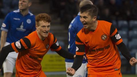 Dundee United's Charlie Telfer