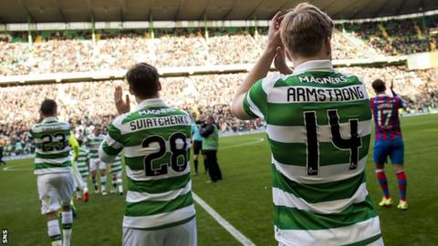 Celtic players