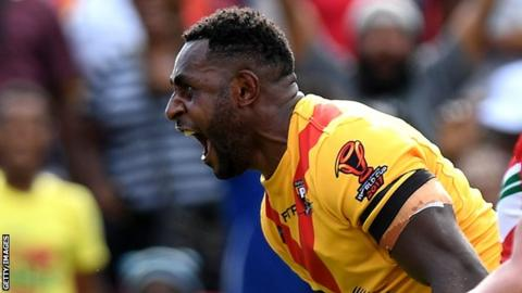 Papua New Guinea thump Wales in World Cup