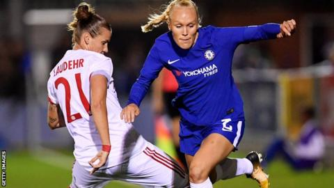 Bayern Munich v Chelsea Ladies