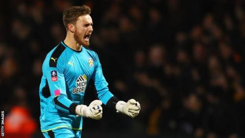 Will Norris has been Cambridge United's first-choice goalkeeper for the past two seasons