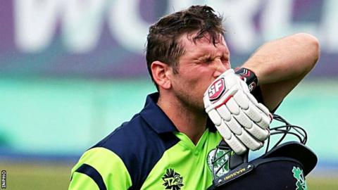 Gary Wilson scored 59 off 34 balls as Ireland put up a spirited effort to reach a target of 234