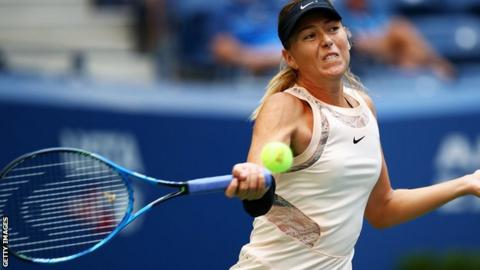 US Open: Maria Sharapova's redemption tour moves into round 3