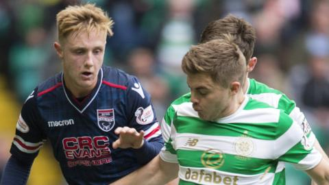 Davis Kellior-Dunn and James Forrest