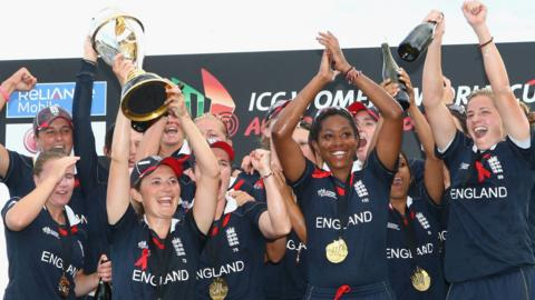 England won the World Cup in 2009