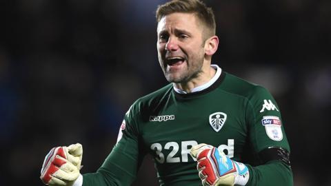 Leeds United goalkeeper Robert Green