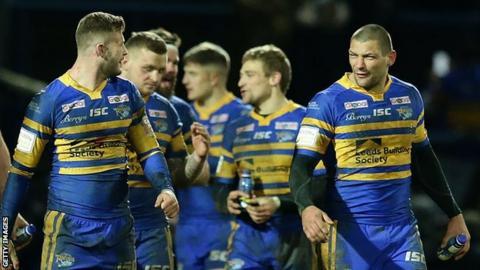 Leeds Rhinos players