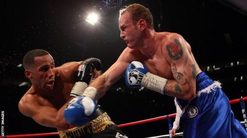 George Groves (right) beat James DeGale in 2011