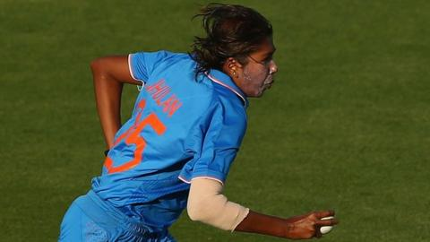 India women's Jhulan Goswami