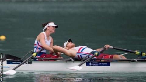 Lauren Rowles and Laurence Whiteley