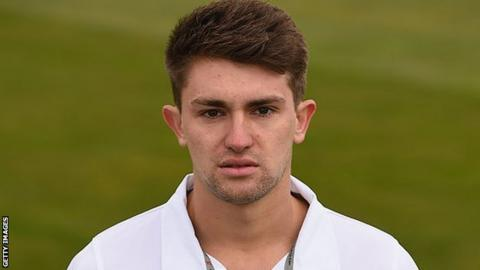 Derbyshire all-rounder Greg Cork