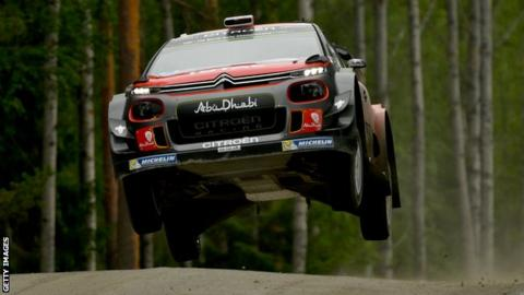 Dramatic twist at Rally of Finland as Latvala suffers technical fault