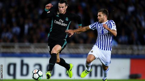 Gareth Bale shows incredible pace to score fantastic goal v Sociedad