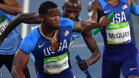 A U.S. track athlete said kissing led to failed drug test