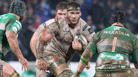 Marcell Coetzee quickly became a key player for Ulster after making his debut last month