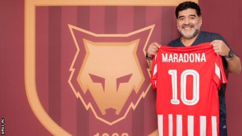 Maradona named coach of second-tier UAE club
