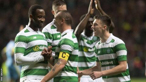 Celtic take on Motherwell in the League Cup