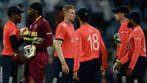 England after their defeat by West Indies